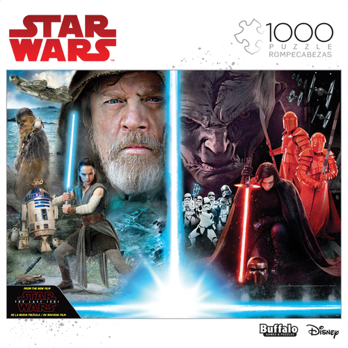 Star Wars: The Light The Darkness Puzzle (1000 Pieces) Box Front