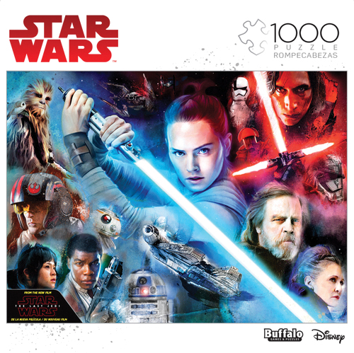 Star Wars: Feel The Force Puzzle (1000 Pieces) Box Front