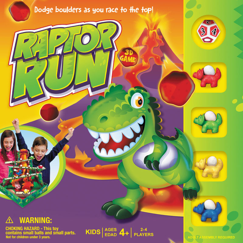 Raptor Run Box Front