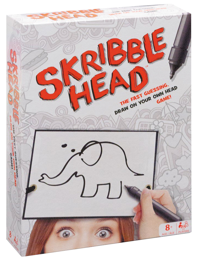 Skribble Head Box Front