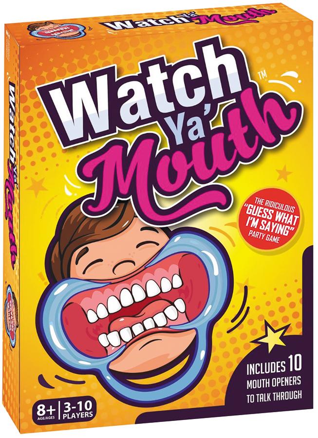 Watch Ya Mouth Box Front