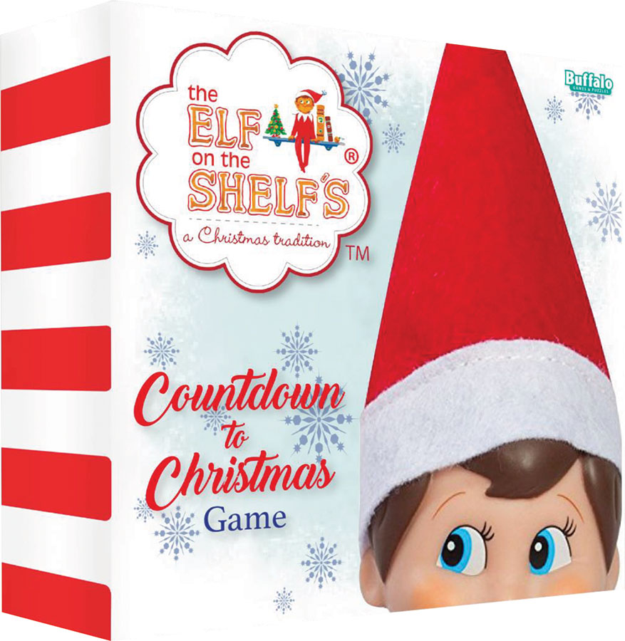 Elf On The Shelf: Countdown To Christmas Game Box