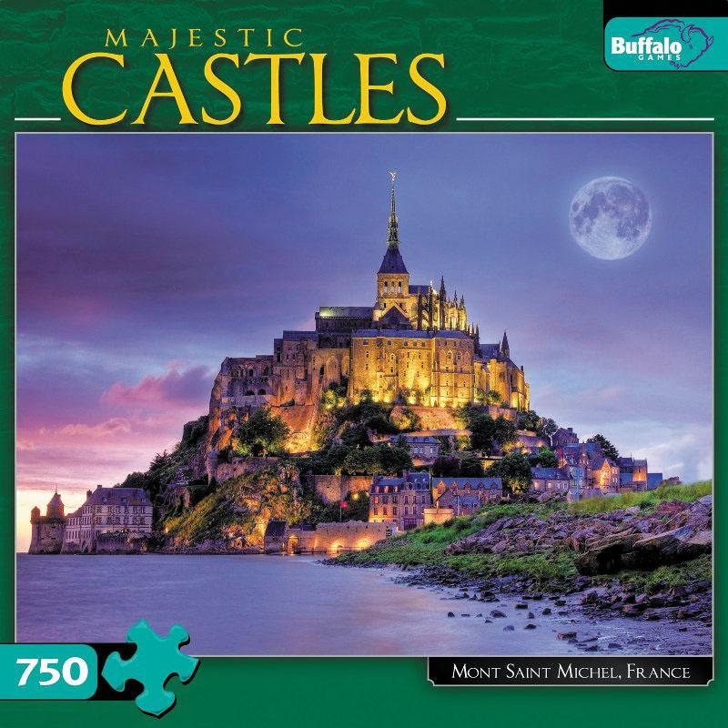 Mont St. Michel Puzzle (750 Pieces) Box Front