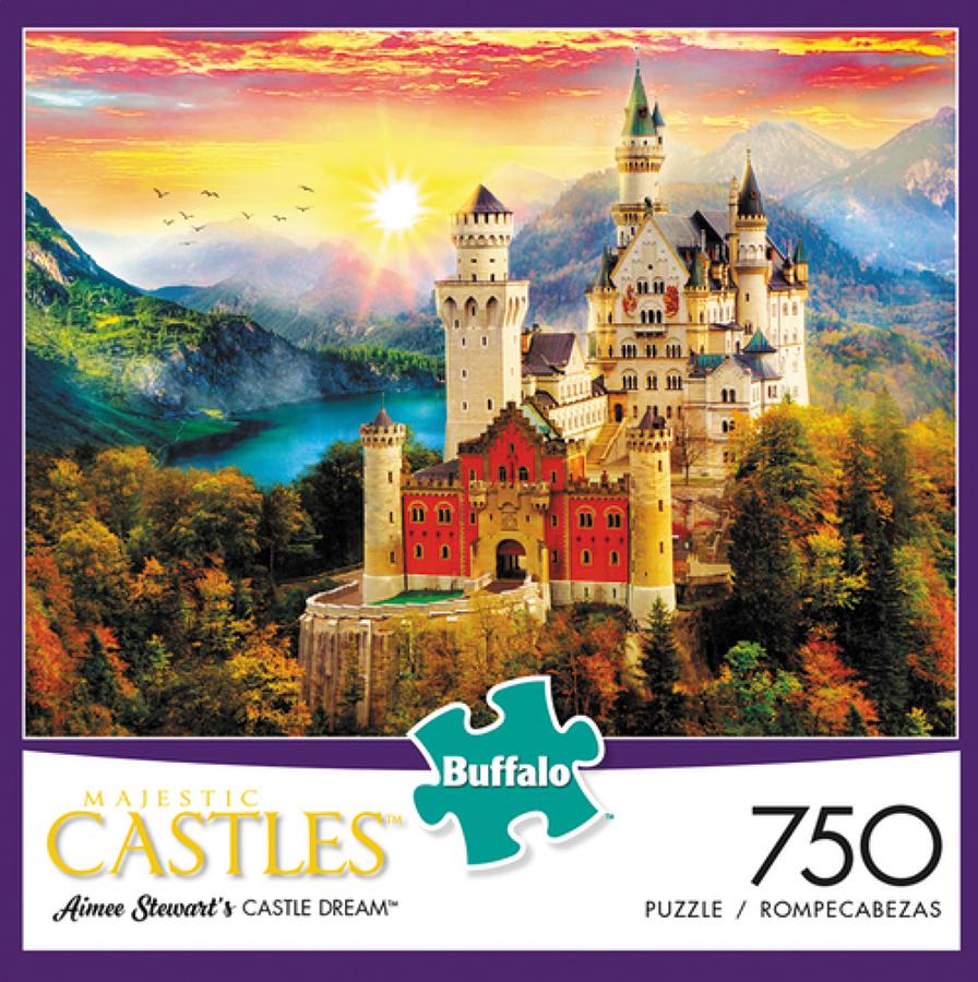 Castle Dream Puzzle (750 Pieces) Box Front