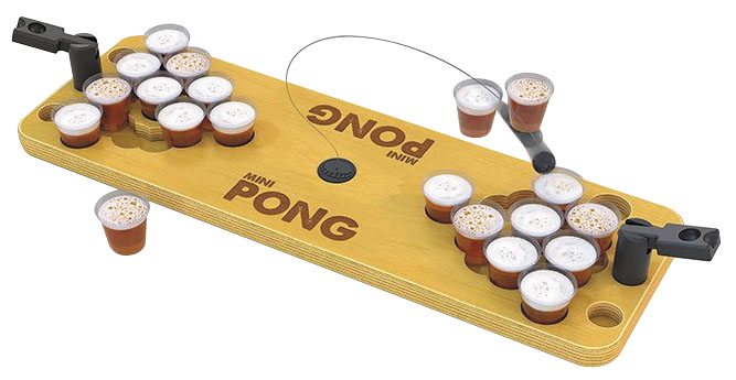 Mini Pong Box Front