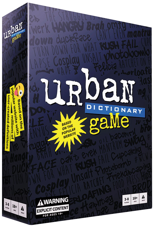 Urban Dictionary Game Box Front