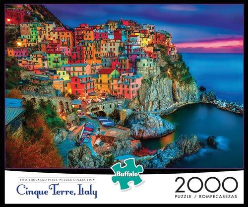 New Cinque Terre Puzzle (2000 Pieces) Box Front