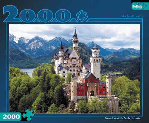 Bavarian Castle Puzzle (2000 Pieces) Box Front