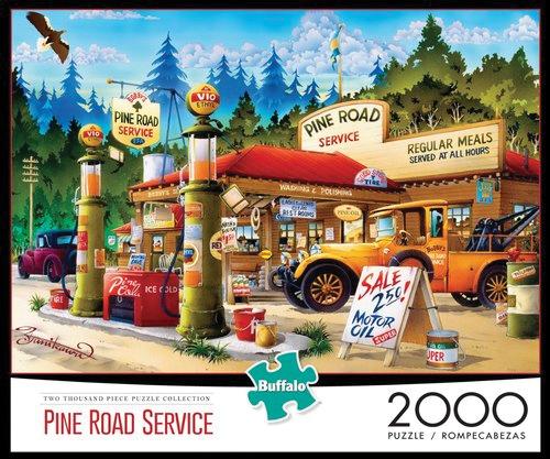 Pine Road Service Puzzle (2000 Pieces) Box Front