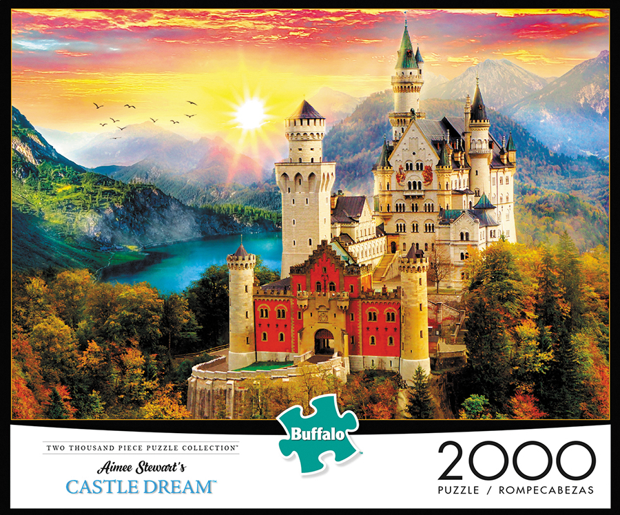 Castle Dream Puzzle (2000 Pieces) Box Front