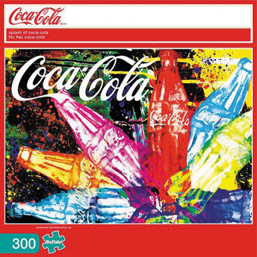 Splash Of Coca-cola Puzzle (300 Large Pieces) Box Front