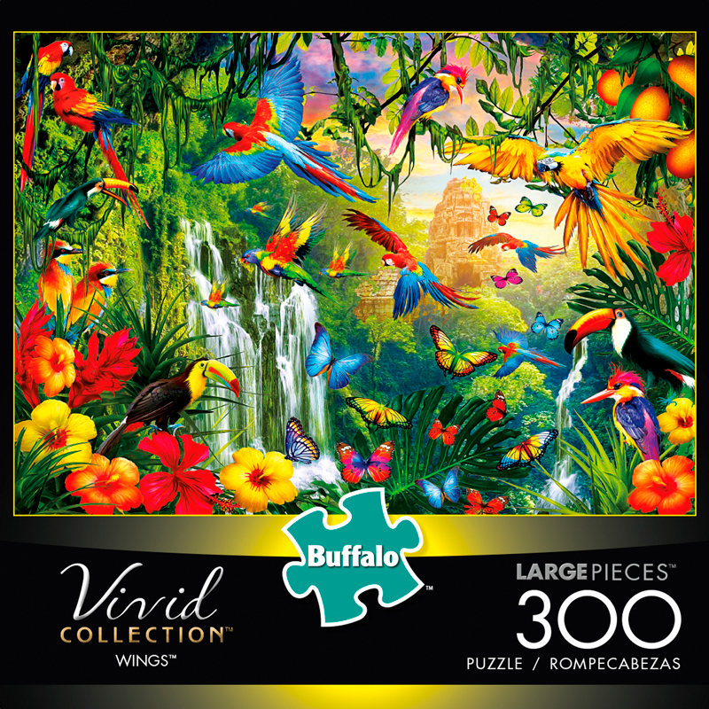 Vivid: Wings Puzzle (300 Pieces) Game Box