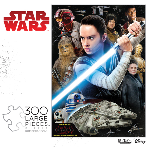 Star Wars: Rey And The Resistance Puzzle (300 Large Pieces) Box Front