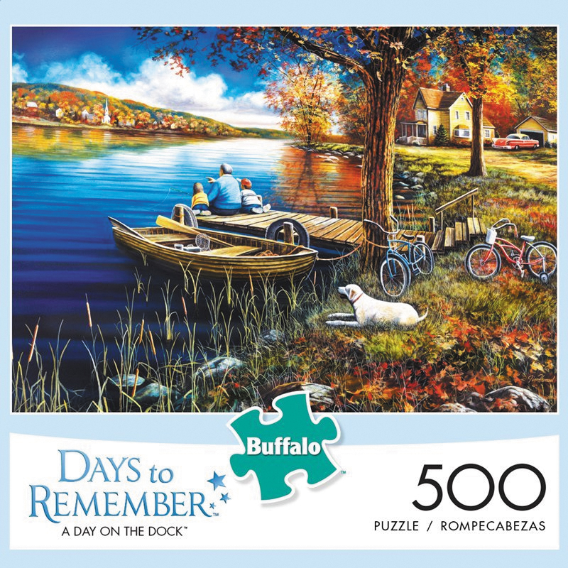 A Day On The Dock Puzzle (500 Pieces) Box Front