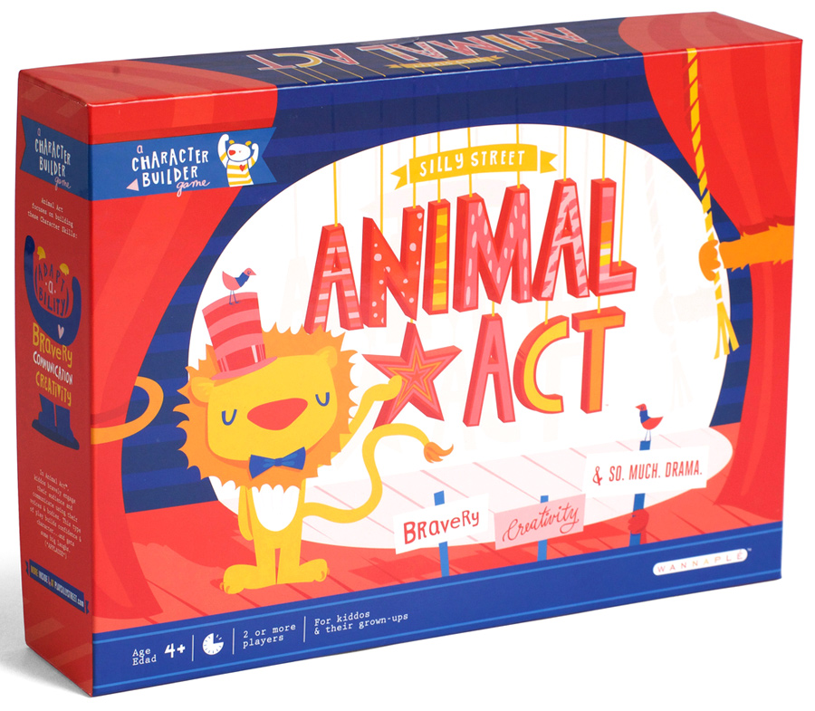 Silly Street: Animal Act Box Front