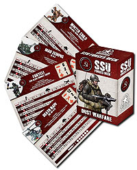 Dust Tactics: Ssu Tactics Cards Box Front