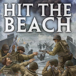 Flames Of War: Hit The Beach Game Box