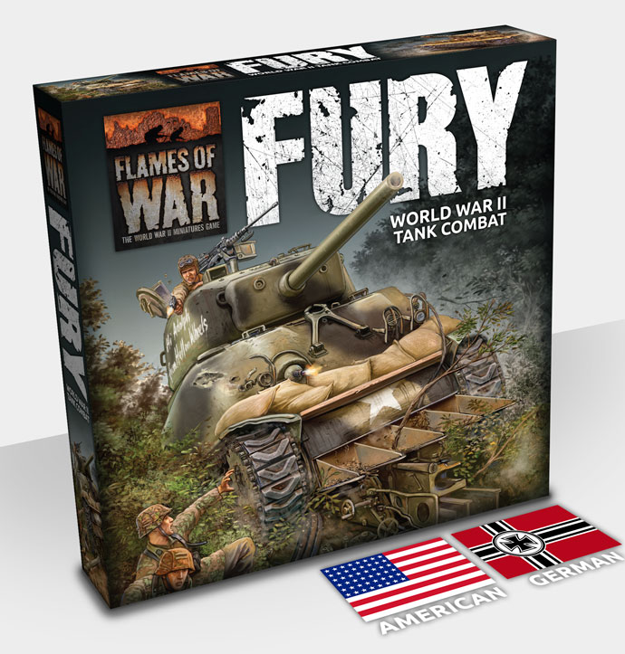 Flames Of War: Fury Game Box