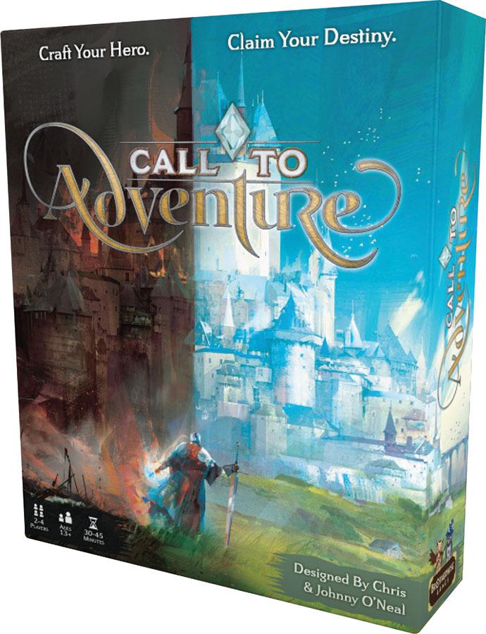 Call To Adventure Pre-release Game Box