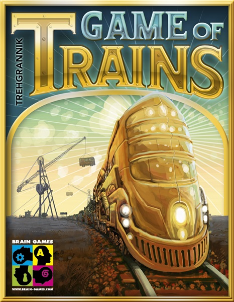 Game Of Trains Box Front