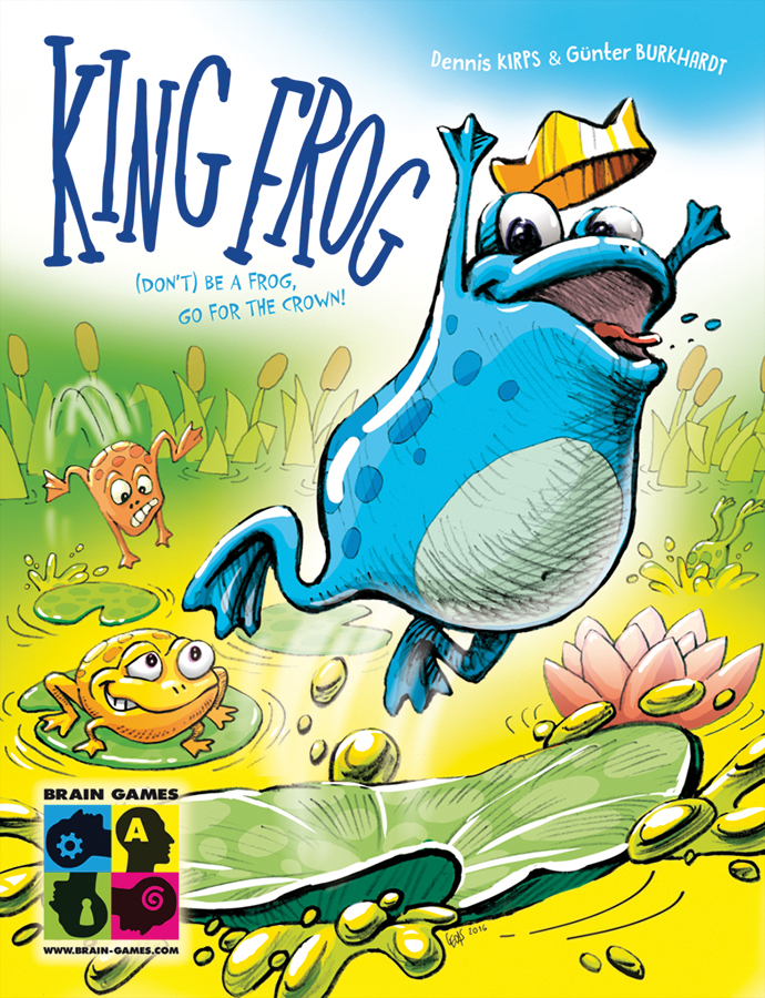 King Frog Box Front