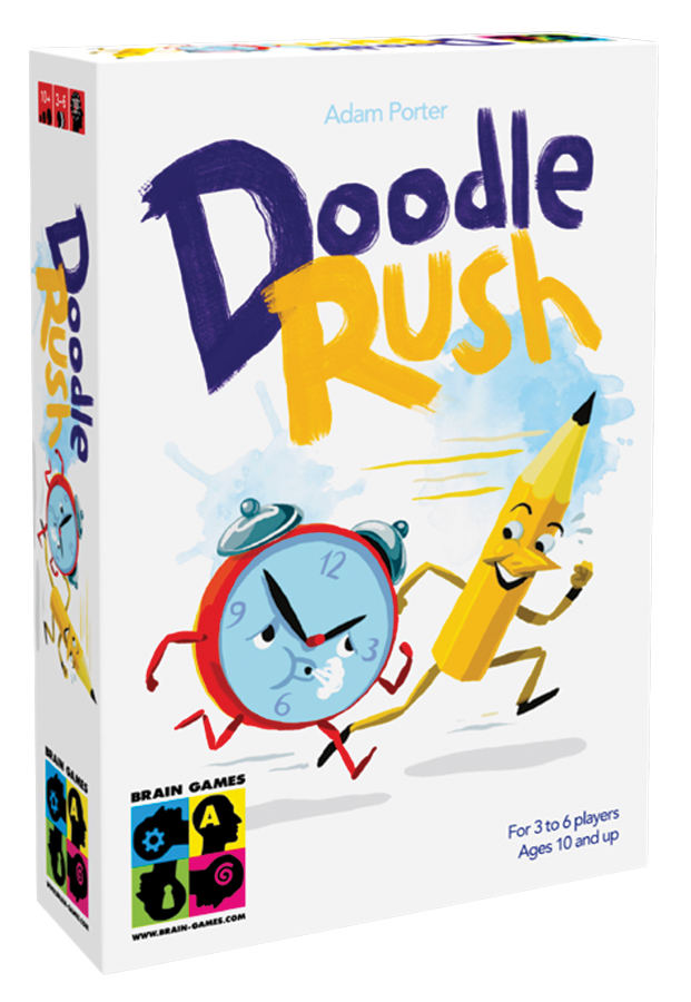 Doodle Rush Box Front