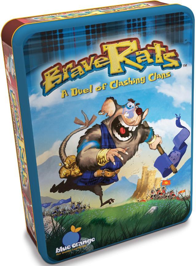 Brave Rats Box Front