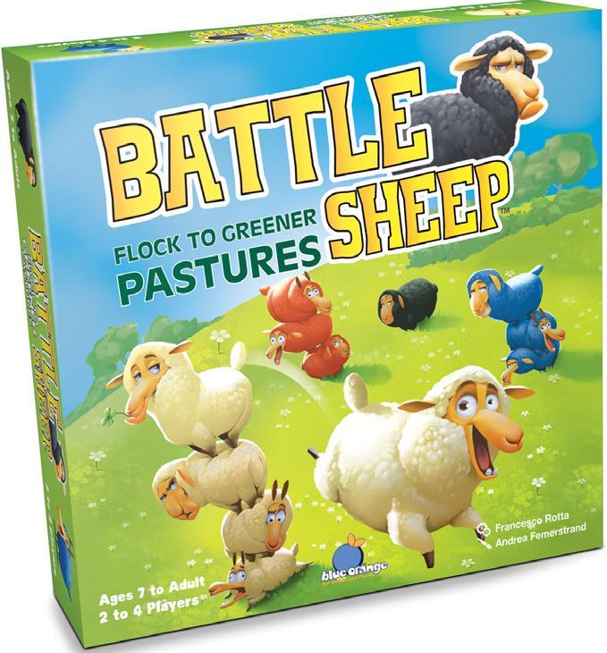 Battle Sheep Box Front