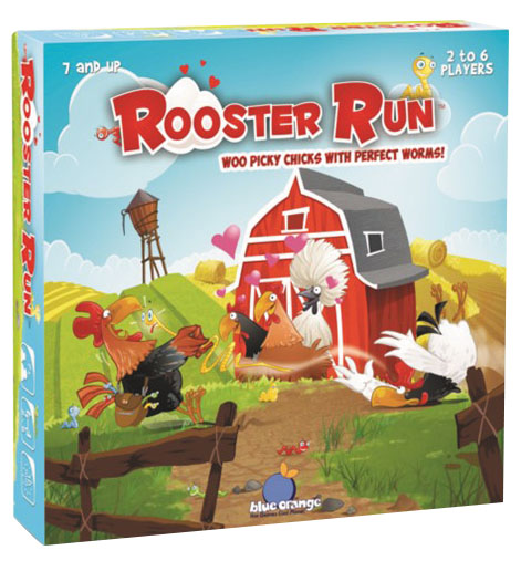 Rooster Run Box Front