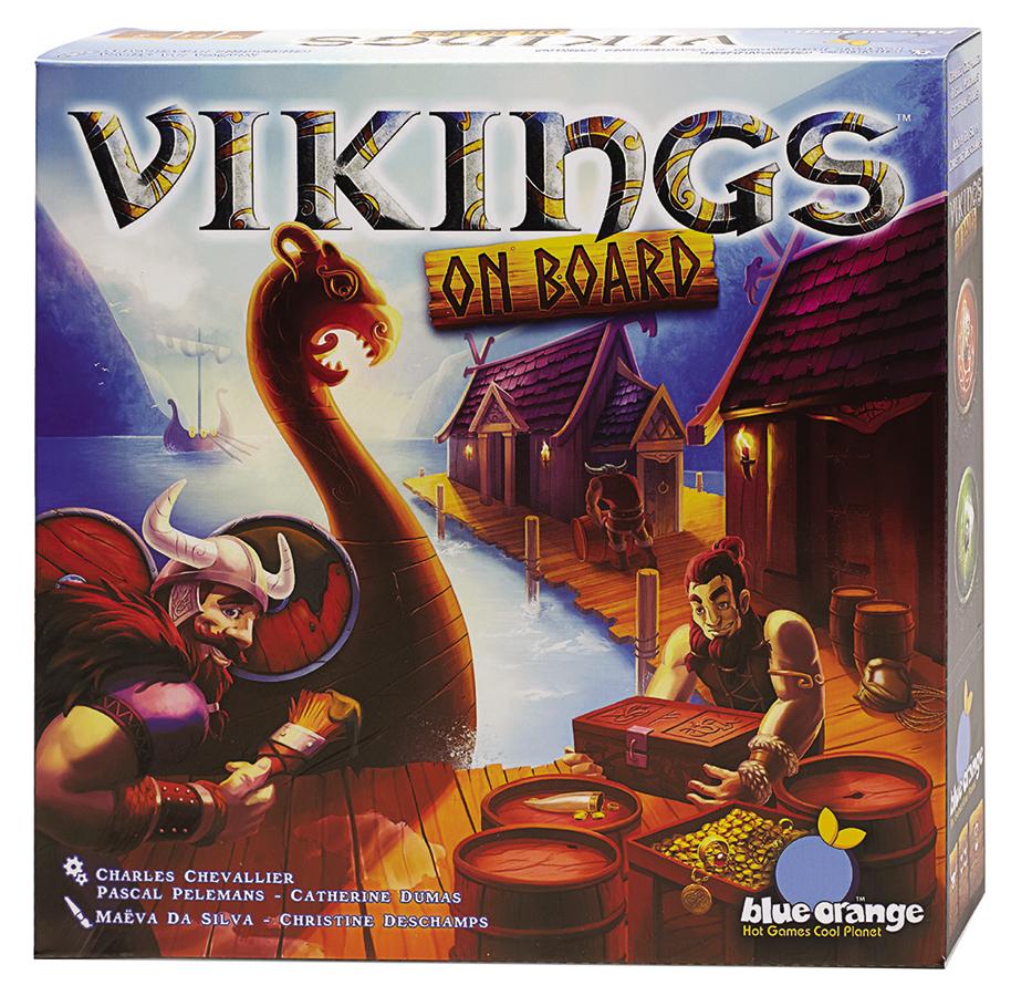 Vikings On Board Box Front