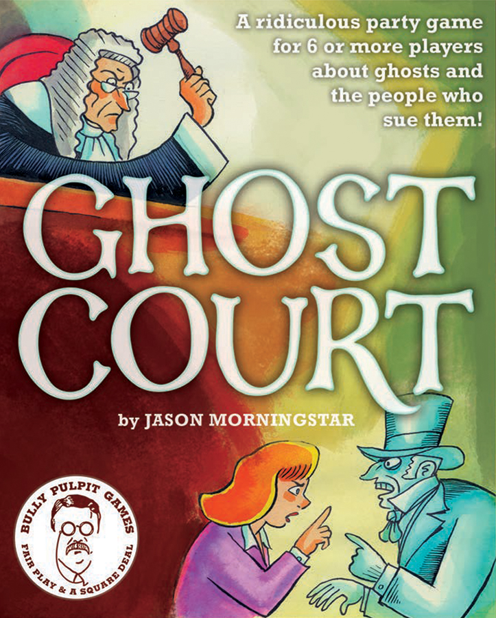 Ghost Court: Role Playing Party Game Box Front