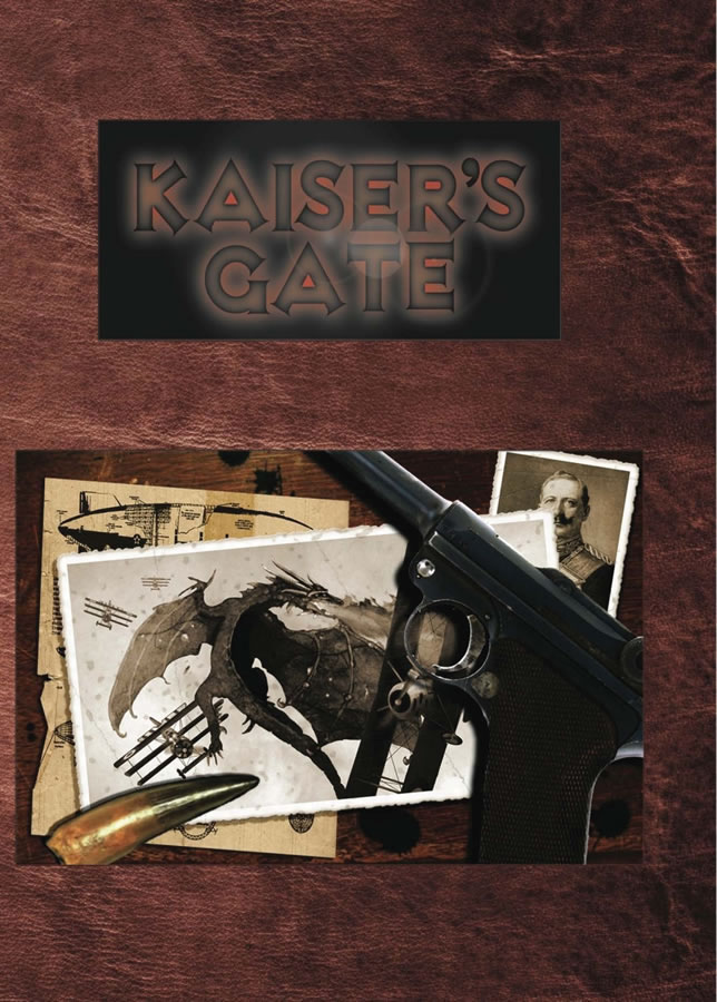 Savage Worlds Rpg: Kaisers Gate Box Front