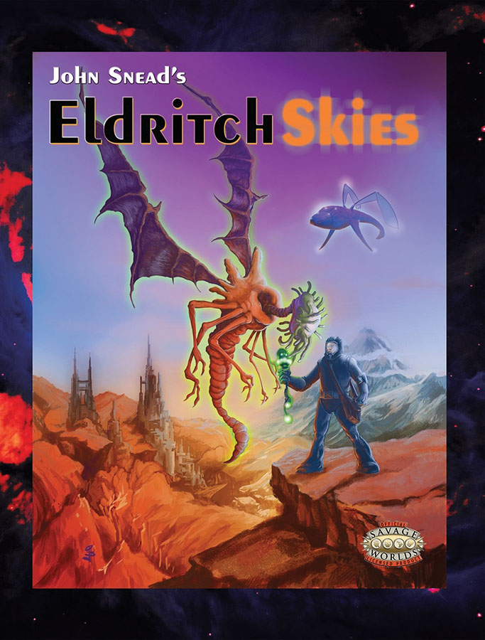 Savage Worlds Rpg: Eldritch Skies Box Front
