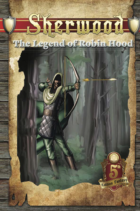 5th Edition Fantasy: Sherwood - The Legend Of Robin Hood Box Front