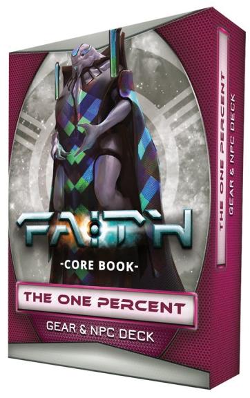 Faith: The One Percent Npc & Gear Deck Box Front
