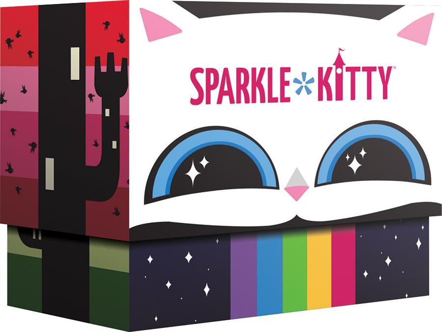 Sparkle Kitty Box Front