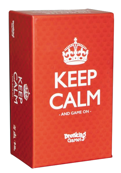 Keep Calm Box Front