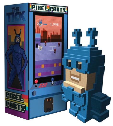 Pixel Party: The Tick Box Front