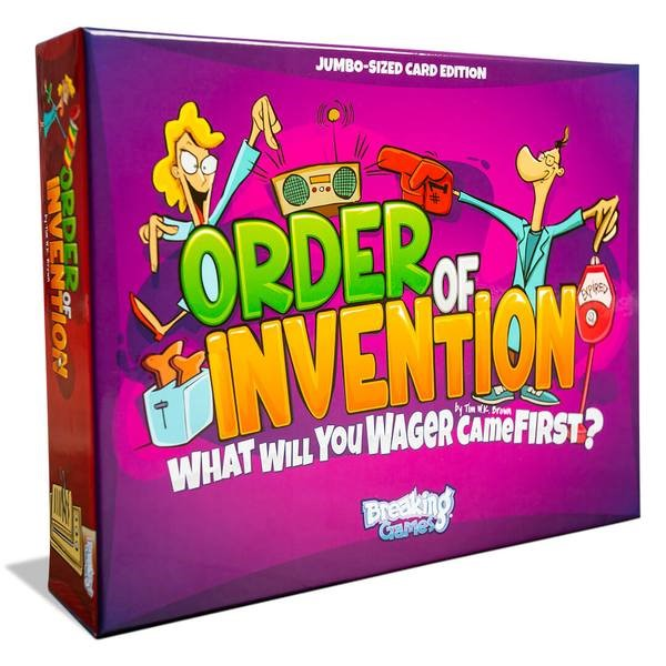 Order Of Invention Game Box