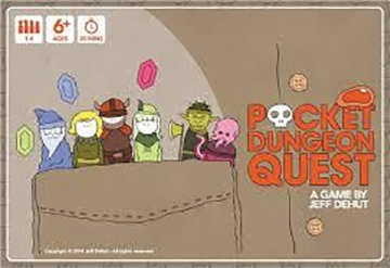 Pocket Dungeon Quest Box Front