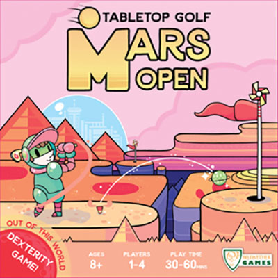 Mars Open: Tabletop Golf Box Front
