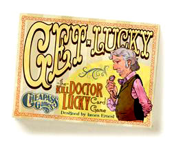 Get Lucky - The Kill Doctor Lucky Card Game Box Front