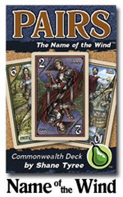 Pairs: The Kingkiller Chronicles #1 - The Name Of The Wind Deck Game Box