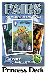 Pairs: Princess And Mr. Whiffle Deck Game Box
