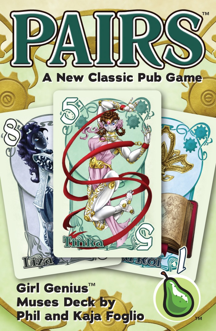 Pairs: Muses Deck Game Box