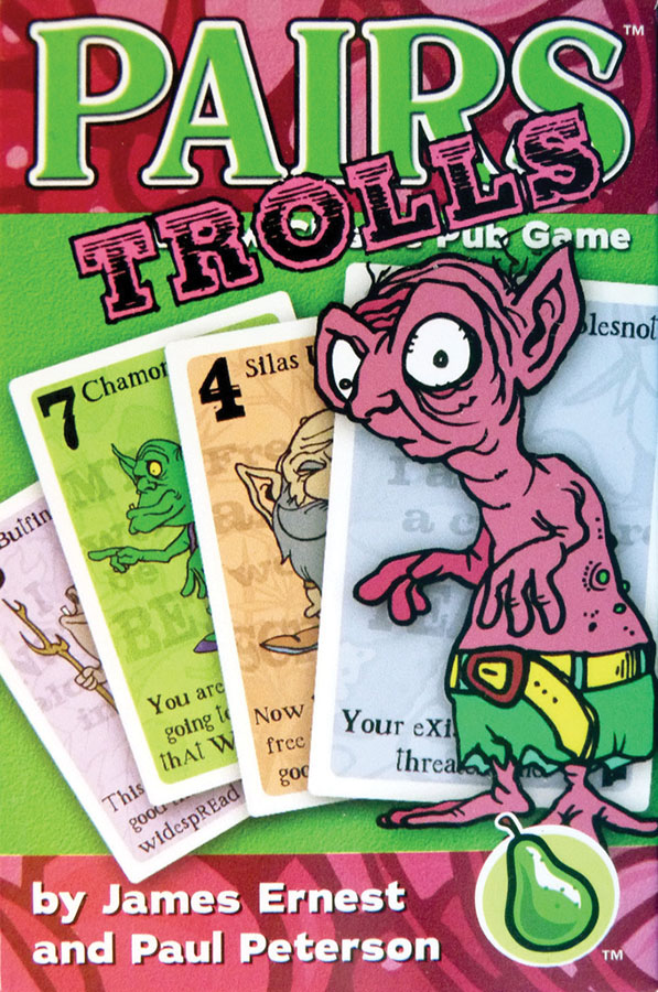 Pairs: Trolls Deck Box Front