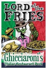 Lord Of The Fries: Italian Expansion Box Front