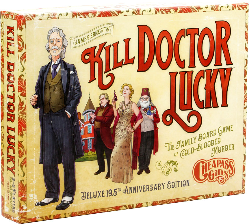 Kill Doctor Lucky (anniversary Edition) Box Front