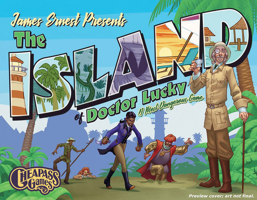 Island Of Doctor Lucky Box Front