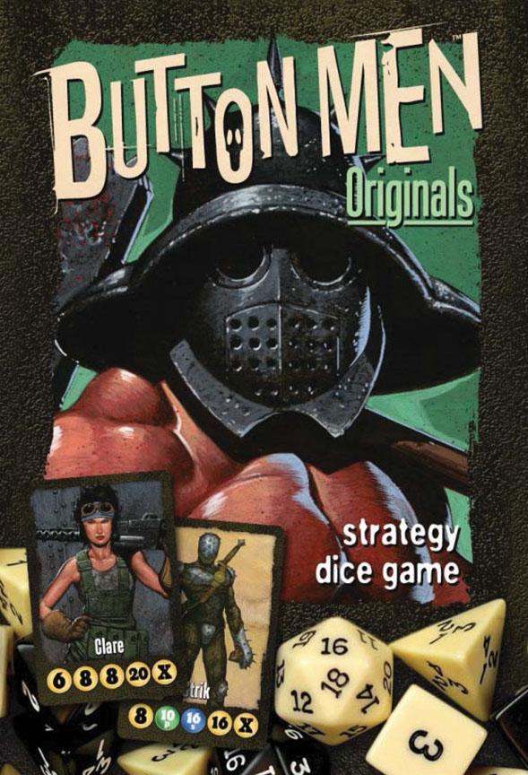 Button Men: Originals Game Box